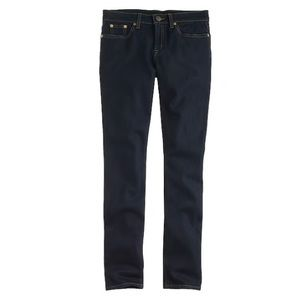 NWOT J. Crew Ever Stretch Toothpick Jeans in Resin